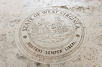 State Seal of West Virginia in Fort Bonifacio; Manila; Philippines
