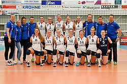 20180110 NED: CEV CUP Sliedrecht Sport - Beziers Angels VB: Sliedrecht<br />Team Sliedrecht Sport <br />&copy;2018-FotoHoogendoorn.nl / Pim Waslander