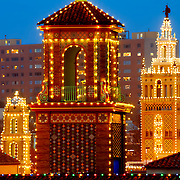 Plaza Lights at Dusk, Kansas City, Missouri in December 2014.