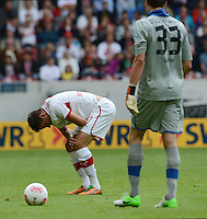 FUSSBALL   1. BUNDESLIGA  SAISON 2012/2013   3. Spieltag  15.09.2012 VfB Stuttgart - Fortuna Duesseldorf     Martin Harnik (VfB Stuttgart) enttaeuscht