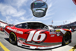 April 13, 2018 - Bristol, Tennessee, United States of America - April 13, 2018 - Bristol, Tennessee, USA: Ryan Reed (16) drives his car under Colossus TV during opening practice for the Fitzgerald Glider Kits 300 at Bristol Motor Speedway in Bristol, Tennessee. (Credit Image: © Chris Owens Asp Inc/ASP via ZUMA Wire)
