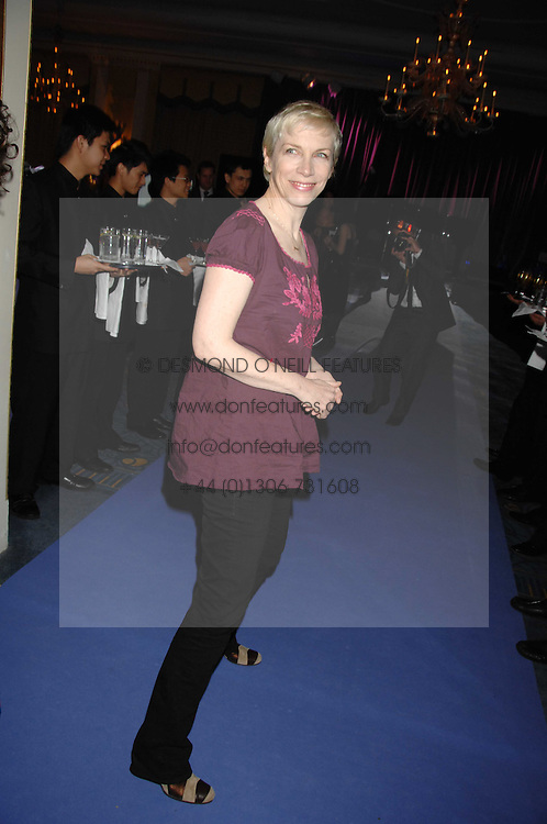 ANNIE LENNOX at the 10th Anniversary Party of the Lavender Trust, Breast Cancer charity held at Claridge's, Brook Street, London on 1st May 2008.<br /><br />NON EXCLUSIVE - WORLD RIGHTS