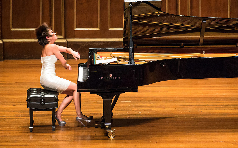 Yuja Wang in recital at Jordan Hall