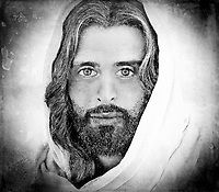 """A million faces of Jesus by Dino Carbetta - Silver""...<br />