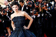 Audrey Tautou attends the Premiere of 'La Venus A La Fourrure' at The 66th Annual Cannes Film Festival on May 25, 2013 in Cannes, France