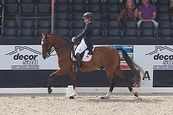 Spaak Mylene, (NED), Sweet Sensation<br /> Roelofsen Horse Trucks Prijs - Juniors Team Test<br /> Dutch Championship Dressage - Ermelo 2015<br /> © Hippo Foto - Dirk Caremans<br /> 17/07/15