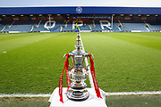 The FA Cup before The FA Cup 5th round match between Queens Park Rangers and Watford at the Loftus Road Stadium, London, England on 15 February 2019.