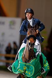 Farrington Kent, USA, Gazelle<br /> Grand Prix Rolex<br /> CHI de Genève 2017<br /> © Hippo Foto - Dirk Caremans<br /> 10/12/2017