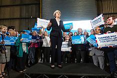 Ruth Davidson and Theresa May | Edinburgh | 5 June 2017