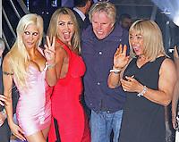 Angelique 'Frenchy' Morgan, Lauren Goodger, Gary Busey & Kelly Maloney, Celebrity Big Brother Summer 2014 - Live Final, Elstree Studios, Elstree UK, 12 September 2014, Photo by Brett D. Cove