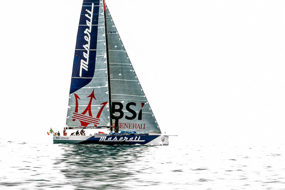 Maserati at the start of Transpac 2013