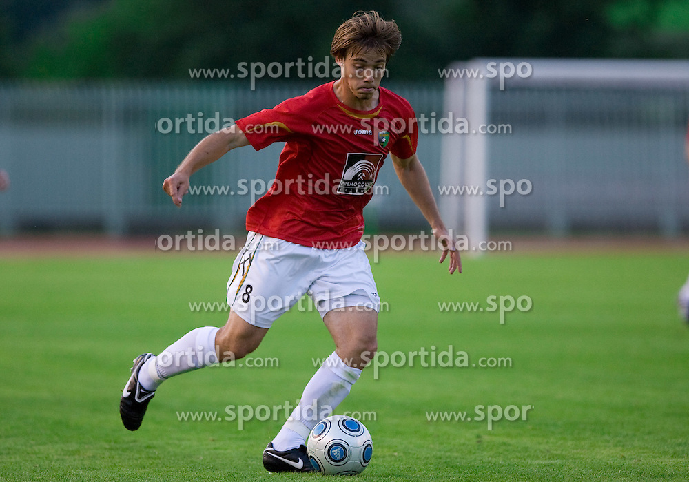 Damjan Trifkovic of Rudar at 1st Round of Europe League football match between NK Rudar Velenje (Slovenia) and Trans Narva (Estonia), on July 9 2009, in Velenje, Slovenia. Rudar won 3:1 and qualified to 2nd Round. (Photo by Vid Ponikvar / Sportida)