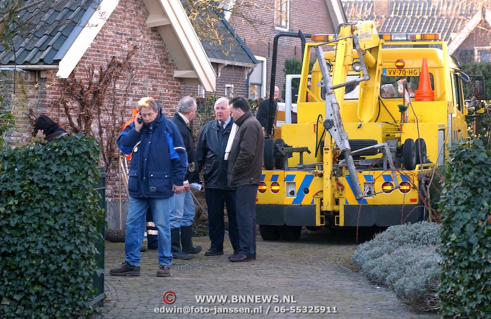 Moord Wendela van der Poel - Hagedoorn Huizen, opgraven lijk, recherche