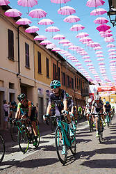 Tayler Wiles (USA) approaches the final lap at Giro Rosa 2018 - Stage 3, a 132 km road race starting and finishing in Corbetta, Italy on July 8, 2018. Photo by Sean Robinson/velofocus.com