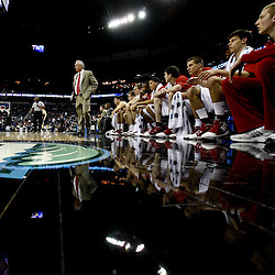 Mar 24, 2011; New Orleans, LA; Wisconsin Badgers head coach Bo Ryan and the bench watch during the second half of the semifinals of the southeast regional of the 2011 NCAA men's basketball tournament against the Butler Bulldogs at New Orleans Arena. Butler defeated Wisconsin 61-54.  Mandatory Credit: Derick E. Hingle