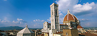Italie, Toscane, Florence, le Dome Santa Maria del Fiore et le Campanile // Italy, Tuscany, Florence, Santa María del Fiore and the Campanile