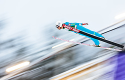 21.02.2016, Salpausselkae Schanze, Lahti, FIN, FIS Weltcup Ski Sprung, Lahti, Herren, im Bild Sevoie Vincent Descombes (FRA) // Sevoie Vincent Descombes of France competes during Mens FIS Skijumping World Cup of the Lahti Ski Games at the Salpausselkae Hill in Lahti, Finland on 2016/02/21. EXPA Pictures © 2016, PhotoCredit: EXPA/ JFK