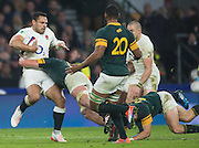 Twickenham, United Kingdom.  Ben TE'O, running with the ball  During the Old Mutual Wealth Series match.: England vs South Africa, at the RFU Stadium, Twickenham, England, Saturday, 12.11.2016<br /> <br /> [Mandatory Credit; Peter Spurrier/Intersport-images]