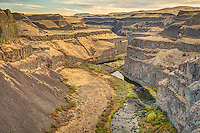The Palouse River is a somewhat short river in southeastern Washington that joins the Snake River, which in turn joins the mighty Columbia River that forms the border between Washington and Oregon. It is best known for it's magnificent waterfall - Palouse Falls.