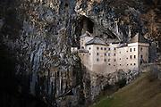 13th century Predjama Castle, Slovenia