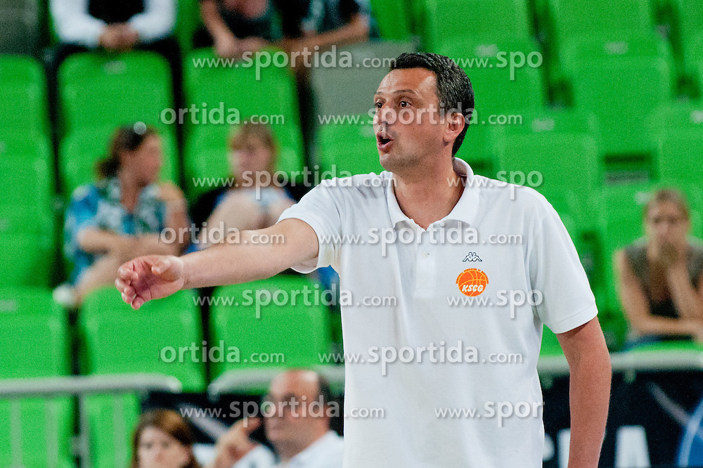 Dejan Radonjic coach of Montenegro at friendly match between Slovenia and Montenegro for Adecco Cup 2011 as part of exhibition games before European Championship Lithuania on August 7, 2011, in SRC Stozice, Ljubljana, Slovenia. (Photo by Matic Klansek Velej / Sportida)