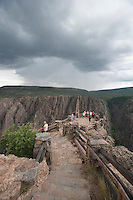 Storm over Black Canyon of the Gunnison, Colorado