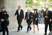 Manhattan, New York, USA, 20110606:   Former IMF chief Dominique Strauss-Kahn pleaded not guilty on Monday to charges he sexually assaulted a New York hotel maid in a case that cost him his job and a chance at the French presidency.<br /> Photo: Orjan F. Ellingvag/ Dagens Naringsliv