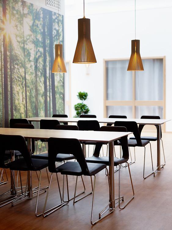 Interiörbilder från Svea Skog i Piteå