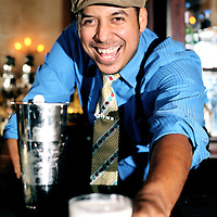Jeret Pena, Mixologist at Esquire Tavern