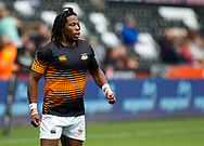 Sibhale Maxwane of Cheetahs during the pre match warm up<br /> <br /> Photographer Simon King/Replay Images<br /> <br /> Guinness PRO14 Round 2 - Ospreys v Cheetahs - Saturday 8th September 2018 - Liberty Stadium - Swansea<br /> <br /> World Copyright © Replay Images . All rights reserved. info@replayimages.co.uk - http://replayimages.co.uk