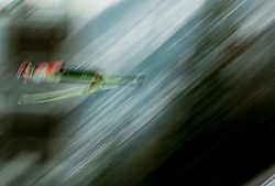 Ski jumper soars through the air during the Ski Flying Individual Competition at Day 2 of FIS World Cup Ski Jumping Final, on March 20, 2015 in Planica, Slovenia. Photo by Vid Ponikvar / Sportida