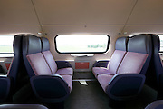 empty seats in train Holland