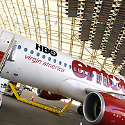 Virgin America Launches JFK-Las Vegas Service With 'Entourage