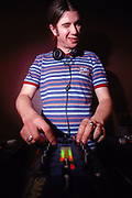 Winking DJ Rob Da Bank at Sugar Shack Middlesborough April 2002