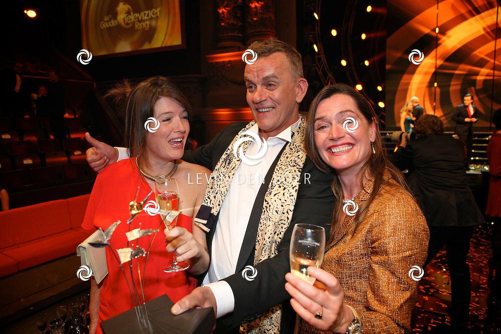 AMSTERDAM - In theater Carre is de Gouden Televizier Ring gala weer geweest.  Met op de foto Winnaar Gouden Stuiver, Taarten van Abel. FOTO LEVIN DEN BOER - PERSFOTO.NU