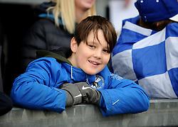 Bristol Rovers fan - Mandatory by-line: Neil Brookman/JMP - 01/01/2018 - FOOTBALL - Memorial Stadium - Bristol, England - Bristol Rovers v Portsmouth - Sky Bet League One
