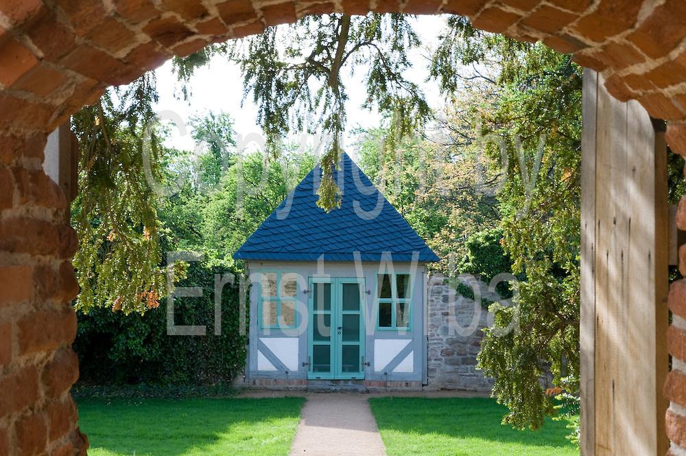 Klostergarten, Kloster Drübeck, Harz, Sachsen-Anhalt, Deutschland | abbey gardens, Druebeck Abbey, Harz, Saxony-Anhalt, Germany