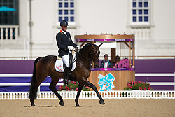 Frank Hosmar (NED) - Alphaville<br /> Individual Freestyle - Grade IV<br /> London 2012 Paralympic Games<br /> © Hippo Foto - Jon Stroud
