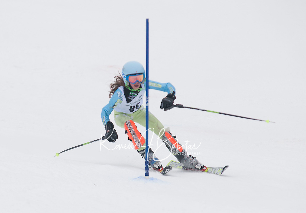 Stratton J4 States Slalom 2nd run March 12, 2011.