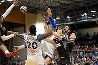 Nikola Karabatic  - 12.01.2015 - France / Autriche - Match Amical <br /> Photo :  Andre Ferreira / Icon Sport