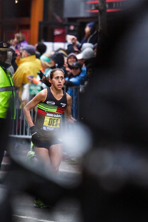 Boston Marathon: Desiree (Davila) Linden, USA