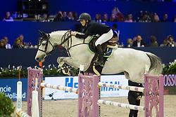 Thijssen Sanne, NED, Celine M Z<br /> Jumping Amsterdam 2018<br /> © Sharon Vandeput<br /> 26/01/18