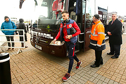 Jamie Paterson of Bristol City arrives at Pride Park Stadium for the Sky Bet Championship game against Derby County - Mandatory by-line: Robbie Stephenson/JMP - 22/12/2018 - FOOTBALL - Pride Park Stadium - Derby, England - Derby County v Bristol City - Sky Bet Championship