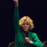 10th Film Festival in Lyon - Masterclass Jane Fonda