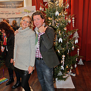 NLD/Amsterdam/20101208 - Skyradio Christmas Tree for Charity 2010, Henkja Smits en partner Petra Morselt