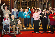 Carols by candlelight. An evening of celebration and song for the Alzheimers's Society. St Pauls Church, Knightbridge, London.