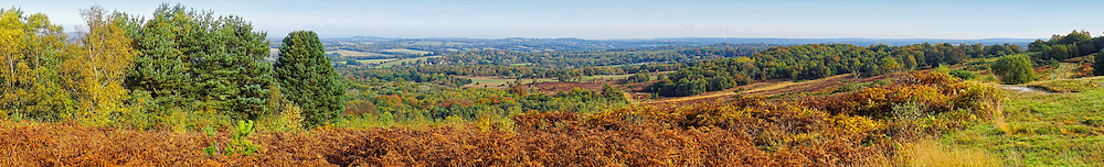 Ashdown Forest is an ancient area of tranquil open heathland occupying the highest sandy ridge-top of the High Weald Area of Outstanding Natural Beauty in Sussex, England.