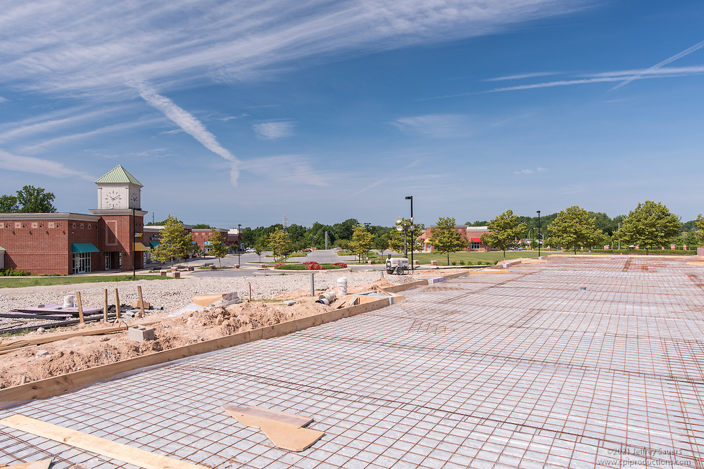 Construction image of Baltimore Crossroads at 95 Office Park in White Marsh Maryland by Jeffrey Sauers of Commercial Photographics, Architectural Photo Artistry in Washington DC, Virginia to Florida and PA to New England
