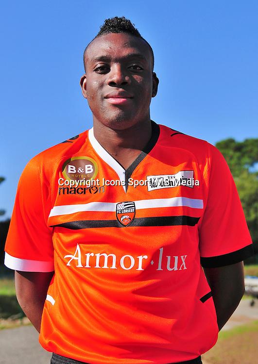 Alain TRAORE - 16.10.2013 - Photo Officielle Lorient - Ligue 1<br /> Photo : Philippe Le Brech / Icon Sport