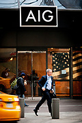 The headquarters of the American International Group - AIG - on 180 Maiden Street on Manhattan. The giant insurer is back in the spotlight as AIG consider suing government for bailing it out.